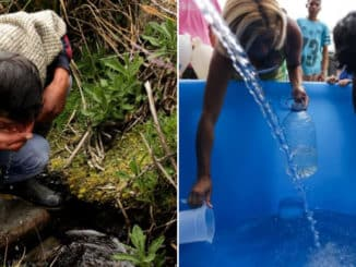 Estudiantes colombianos crean dispositivo que produce agua potable