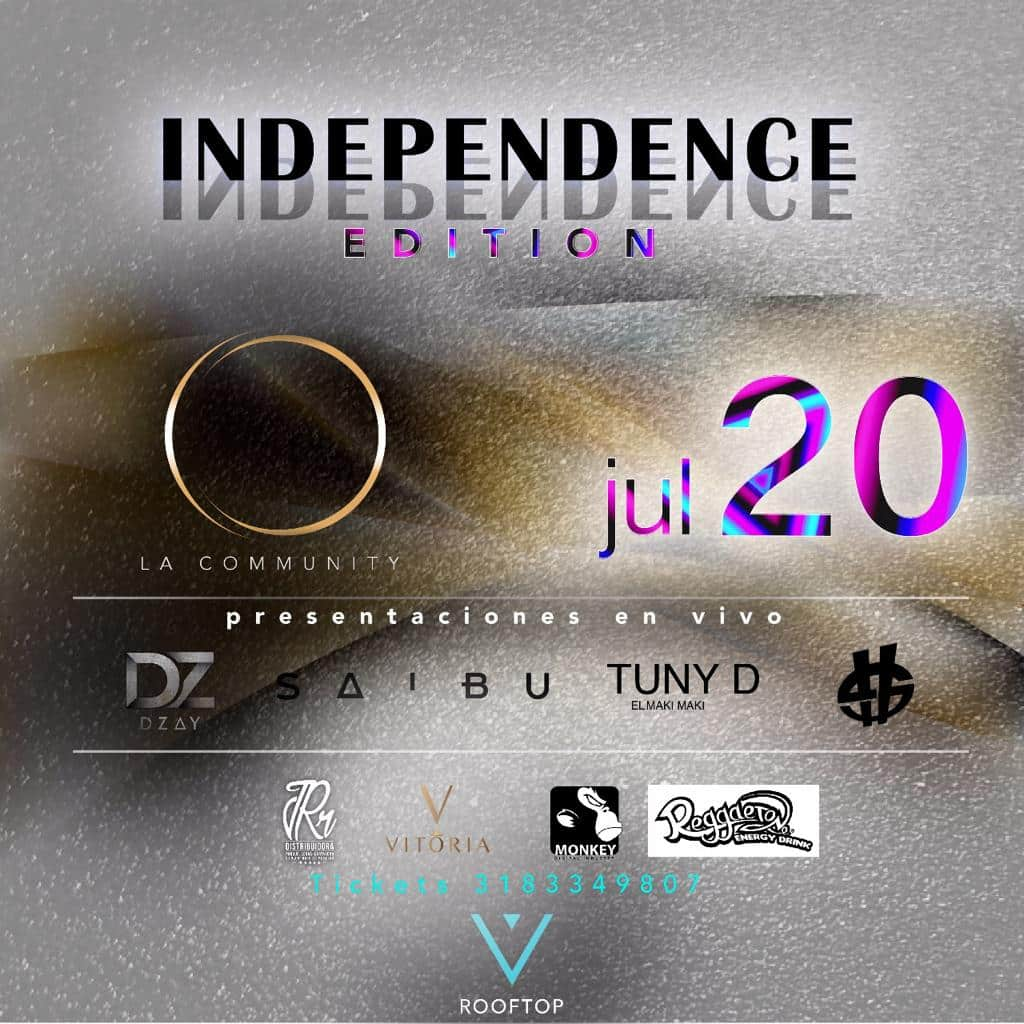 La Community presenta su evento Independence Edition