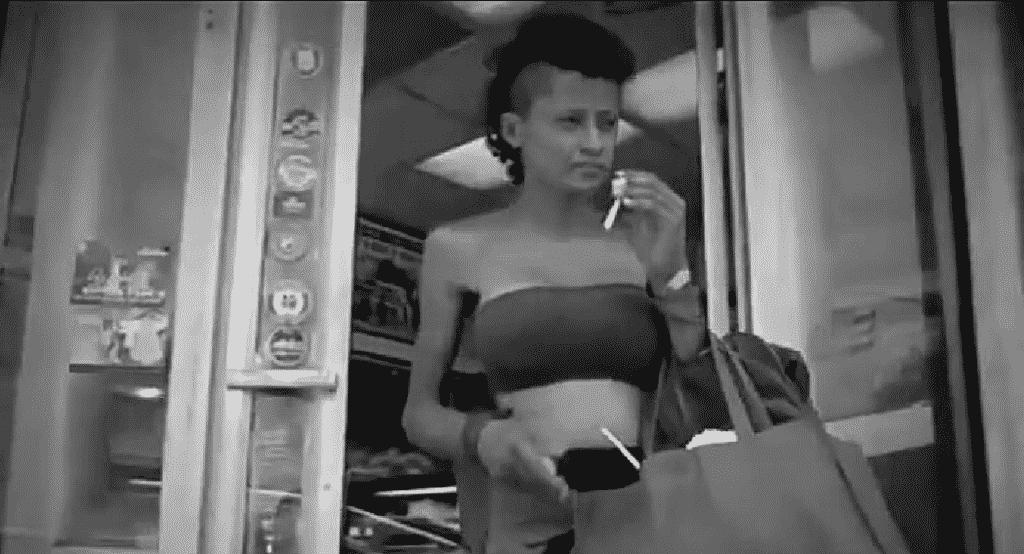 Suzy Pérez, ex modelo y bailarina de JLo que se encuentra viviendo las calles